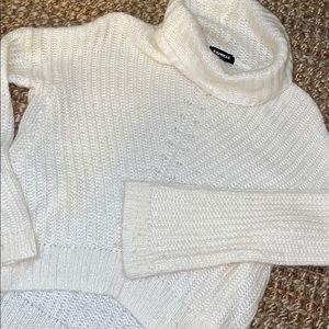 Ivory *Express* sweater